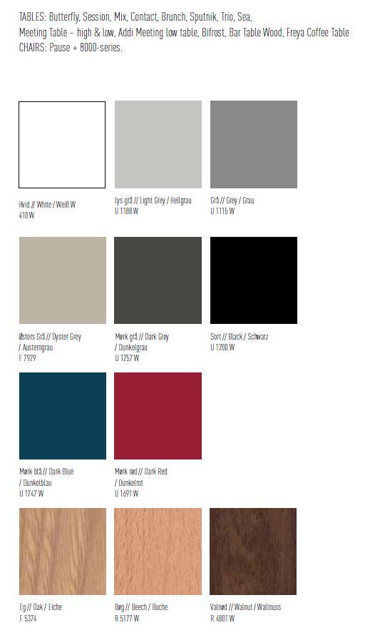 Materials & Colours | Magnus Olesen